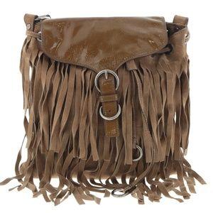 Yves Saint Laurent Suede Shoulder Bag